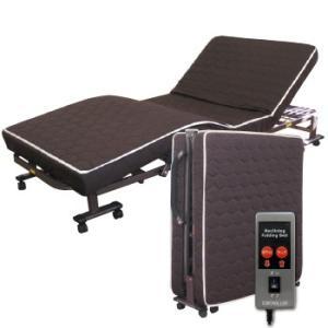 『低反発ダブルリクライニング電動ベッド』(メーカー直送品。代引不可・同梱不可・返品キャンセル割引不可)送料無料寝具 布団 家具 組立不要 低反発ウレ|parusu