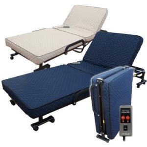 『低反発ウレタン入り電動リクライニングベッド』(メーカー直送品。代引不可・同梱不可・返品キャンセル割引不可)送料無料寝具 布団 家具 組立不要 低反|parusu