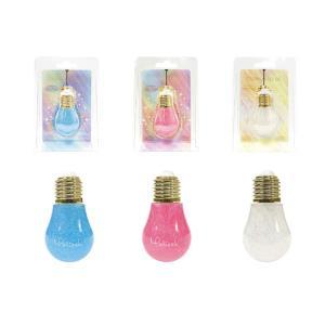 メリッシュdenkyu 電球 リップオイル×3個セット ブルー/ピンク/クリア 12種オイル配合|parusu