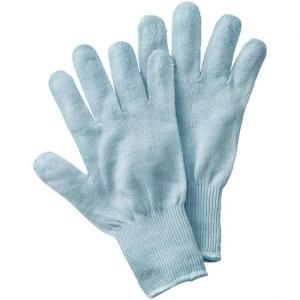 大感謝価格『シルク混おやすみ手袋』素肌 やさしい 保湿 スリ...