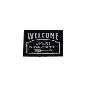 【大感謝価格】コイヤーマット ウェルカムオープン 400833903|parusu