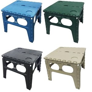 【大感謝価格】FOLDING TABLE フォールディングテーブル Chapel チャペル Blue/Green/Black/Sand|parusu