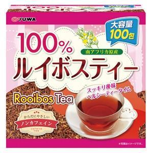 大感謝価格『ユーワ ルイボスティー100% 150g(1.5g×100包)』健康食品 健康茶 健康ドリンク ルイボス茶『ユーワ ルイボスティー100% 150g(1.5g×100包)』|parusu