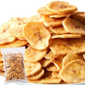 5個購入で1個多くおまけ 天然生活 サクっと軽く甘くて美味しい お徳用 濃蜜バナナチップス 500g|parusu