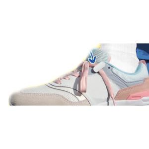 ネコポス 靴ひもクリップ 2足組8個 ホワイト/ブラック
