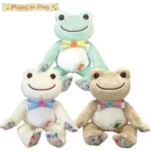 ピクルス ソーイング ビーンドール 141293-316 限定 ぬいぐるみ H16xW12xD15cm かえる カエル フロッグ frog pas-a-pas