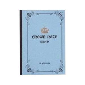 CRNOB5GY/KEY STONE[クラウンノート B5(グレー)]キーストーン/文具/ノート/キッズ/事務用品 pas-a-pas