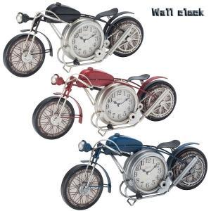 【お取り寄せ】イシグロ 31250-52 置き時計・掛け時計 ブラック W43×H18.5×D7.5cm  アメリカンバイク クロック 電池 時計 置き アンティーク インテリア 部屋|pas-a-pas