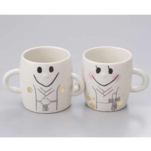 LF-0850B/友愛玩具 なかよしペアマグカップ[ウェディング/和装]ギフト/ブライダル/結婚式/婚礼/祝い/贈りもの/キッチン/雑貨 pas-a-pas