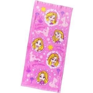 選べる3P¥1,110対象商品/ディズニー ラプンツェル フェイスタオル FJ411000 Disney キャラクター 綿 コットン cotton 洗面所 汗 レジャー|pas-a-pas