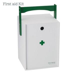 【お取り寄せ】イシグロ 60059 デザイン小物 W20.3×D19×H33.5cm 救急箱 おかもち型 ホワイト 装飾 インテリア 収納|pas-a-pas