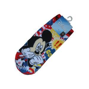 選べる3P¥1,110対象商品/ZZS302/J's[Disney]キャラクターソックス (ミッキーマウス・バルーン)/靴下/ディズニー/MK/婦人/キャラクター|pas-a-pas