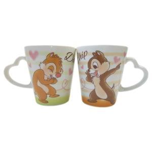 DN-5524201CD/ティーズファクトリー/【Disney/ディズニー】ラブリーペアマグカップ「チップ&デール」/コップ/カップ/食器/陶器/キッチン/台所/キャラクター pas-a-pas