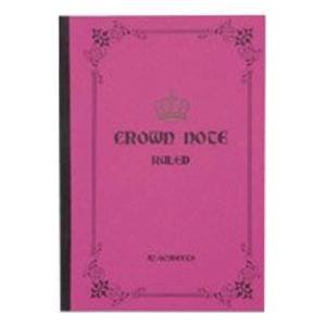 CRNOB5RD/KEY STONE[クラウンノート B5(レッド)]キーストーン/文具/ノート/キッズ/事務用品 pas-a-pas
