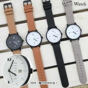 【ネコポス便発送可】QKD052 フィールドワーク 腕時計 グラモン アナログ 日付 曜日 表示 革ベルト 時計 ウォッチ 腕時計 ファッションウォッチ pas-a-pas