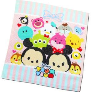 選べる3P¥555対象商品/ハンドタオル CMHT-01 Disney ディズニー ツムツム tsumtsum リボン キャラクター コットン 綿 洗面所 洗顔 手洗い 汗|pas-a-pas