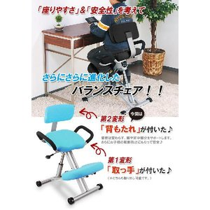 (外せる) 背凭れ付き ニーリング チェア 子供から大人まで姿勢矯正 バランス |pascal-japan|02
