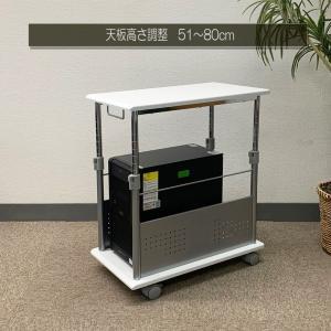 PJC-7201 ・L字デスク・CPUワゴン・上下昇降式デスクに対応【上下昇降 51〜80cm】CPUスタンド PJC-7201 -WD -WH 【お客様による組み立て式です】 pascal-japan 14
