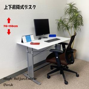 上下昇降式デスク PJC-D1060【上下昇降 70〜110cm】パソコンデスク・ゲーミングデスク・スタンディングデスク・バランスチェア―にも最適|pascal-japan|15