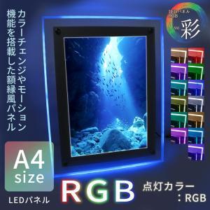LEDパネル RGB A4 店舗ディスプレイ 送料無料|pascalstore