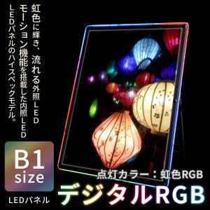 LED パネル 看板 展示 POP デジタルRGB B1 送料無料|pascalstore