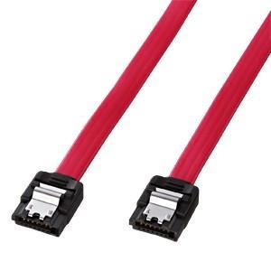 SATA3ケーブル 0.5m ラッチ付き、ストレートコネクタ|paso-parts