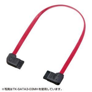 SATA3ケーブル 0.5m 左右L型コネクタ|paso-parts
