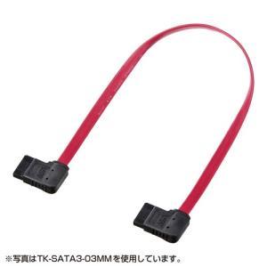 SATA3ケーブル 0.5m 右右L型コネクタ|paso-parts