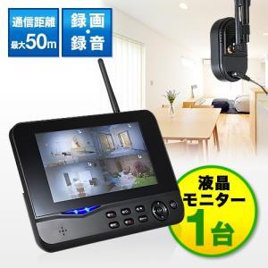 防犯カメラ用モニタ YK-CAM035専用モニタ 1台 7インチ SD USBメモリー接続対応|paso-parts