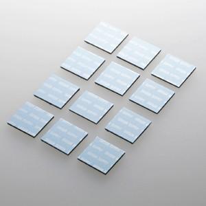 パソコン冷却パット 17mm 角型 12枚入り ブルー iPhone iPad タブレットPC スマートフォン 各種モバイル機器対応|paso-parts