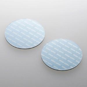 パソコン冷却パット 43mm 丸型 2枚入り ブルー iPhone iPad タブレットPC スマートフォン 各種モバイル機器対応|paso-parts