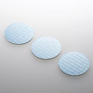 パソコン冷却パット 43mm 丸型 3枚入り ブルー iPhone iPad タブレットPC スマートフォン 各種モバイル機器対応|paso-parts