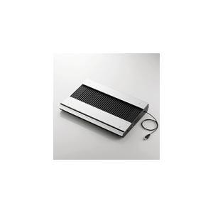 即納 送料無料 エレコム ノートPC用クーラー(高耐久性×極冷) SX-CL23LBK|pasoden