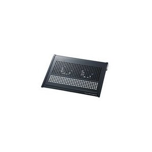 即納 送料無料   サンワサプライ ノート用クーラーパッド ブラック TK-CLN16U2N TK-CLN16U2N|pasoden