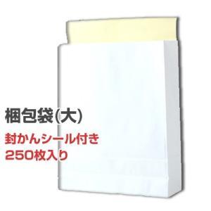 【即納】【送料無料】ロジック 梱包用宅配袋(大サイズ) 無地 白色 横320×奥行(マチ)110×高さ400mm 250枚 梱包袋 [KONPO-FUKURO-DAI] pasoden
