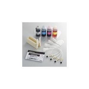 エレコム ブラザー用 詰め替えインク〈4色セット〉 THB-11BCSET THB-11BCSET|pasoden