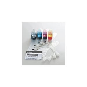 送料無料 エレコム ブラザー製「LC12」インクカートリッジ対応 詰め替えインク 4色セット THB-12BCSET ブラザー インクカートリッジ|pasoden