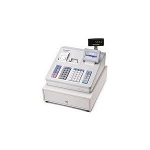 シャープ 電子レジスタ ブロック別キーボードタイプ ホワイト  XE-A407-W XE-A407-W
