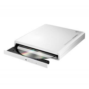 I-O DATA スマホ・タブレット用 DVD視聴+音楽CD取り込みドライブ「DVDミレル」 VR対応 DVRP-W8AI 送料無料|pasokon