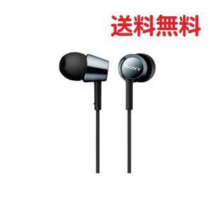 ソニー SONY イヤホン MDR-EX150 カナル型 ブラック MDR-EX150 B 密閉型イ...