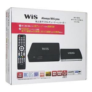 送料無料 WIS 地デジ チューナー レコーダー HDD 500GB 3波チューナー 録画 増設可能 WS-4DRX