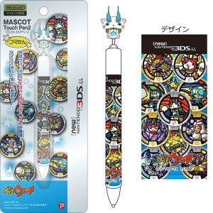 妖怪ウォッチ new NINTENDO 3DS LL 対応 マスコットタッチペン コマさん Ver. |pasokon