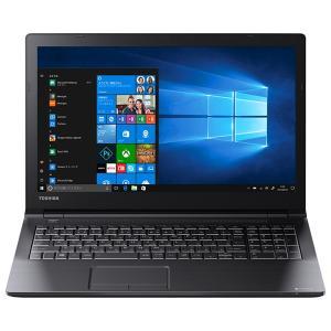 カラー:ブラック メーカー:TOSHIBA OS:Windows:10 Pro CPU製品名:Int...