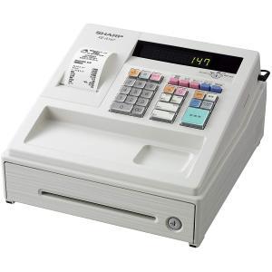 SHARP XE-A147-W[電子レジスタ(ホワイト)]業務用レジ本体 8部門 1シート【軽減税率対策補助金対象】