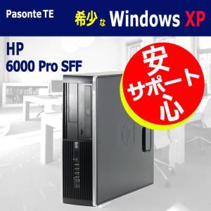 【中古 パソコン】 Windows XP Pro HP 6000 Pro SFF  Core2Duo...