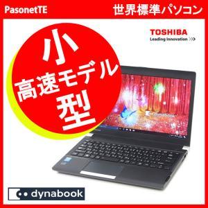 中古 小型 軽量 ノートパソコン 東芝 R734/K Core i5 2.6GHz 新品SSD メモリ 4GB オフィス  Windows 10 pro USB3.0 Wifi|pasonet