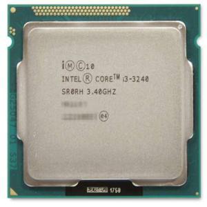 中古パソコンパーツ 第3世代(Ivy Bridge) Intel Core i3 3240  3.40GHz (3MB/ 5 GT/s/ LGA1155) デスクトップ用