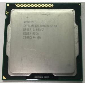 中古パソコンパーツ Intel Celeron G470 2.0GHz (1.5MB/ 5 GT/s/ LGA1155) デスクトップ用|pasonet