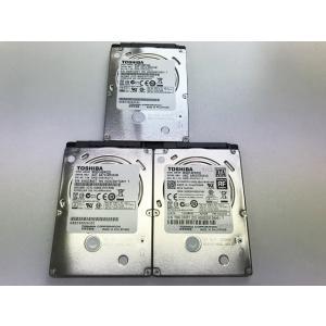 中古PCパーツ 320GB ハードディスク 3台セット 内臓 2.5インチ SATA TOSHIBA...