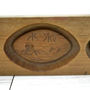 菓子木型 落雁 和三盆 羽子板タイプ 3本セット 1602-718 passage-bm 04